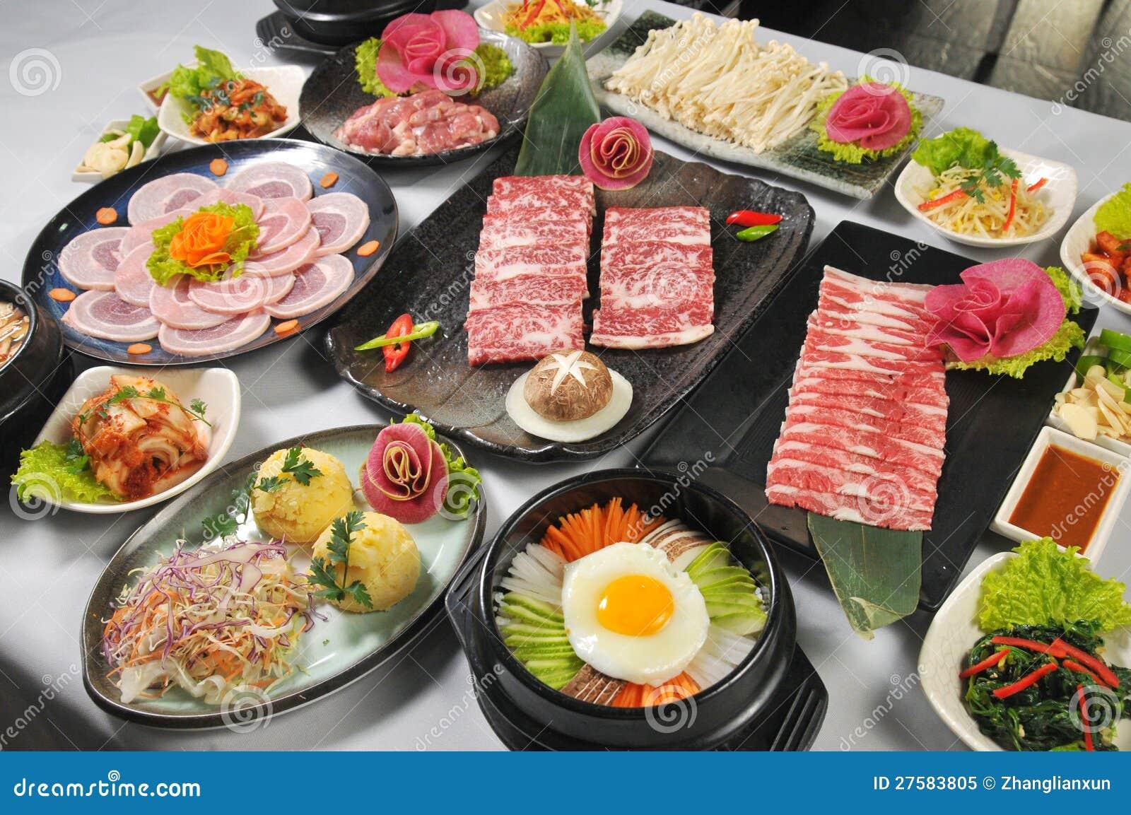 Cuisine cor enne photo libre de droits image 27583805 for Cuisine coreenne