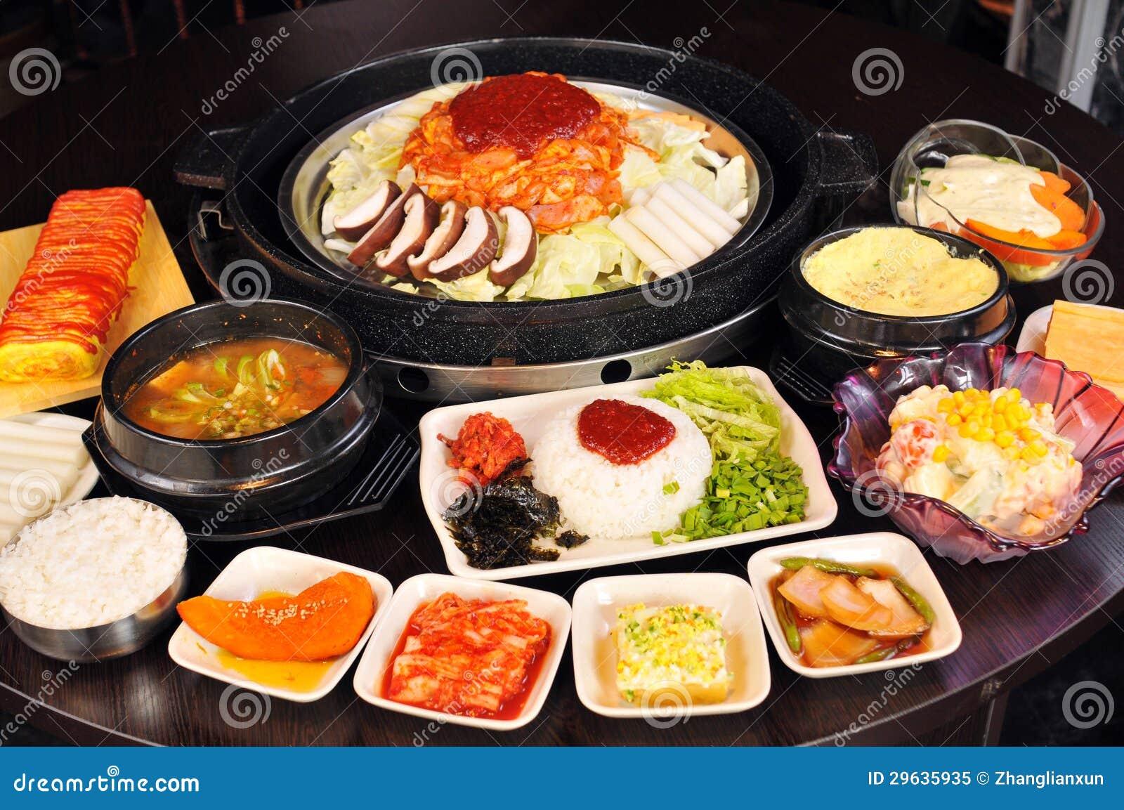Cuisine cor enne photo libre de droits image 29635935 for Cuisine coreenne