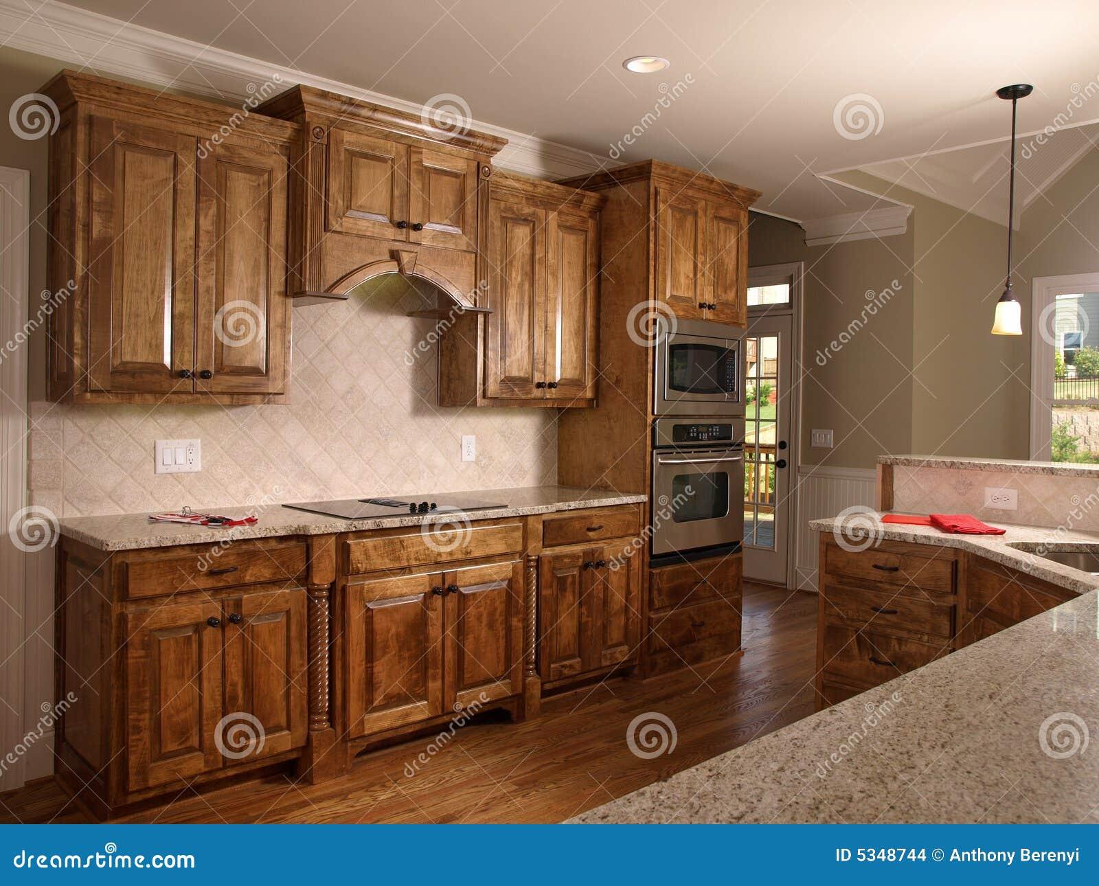 cuisine de luxe 2 d 39 rable de maison mod le images stock image 5348744