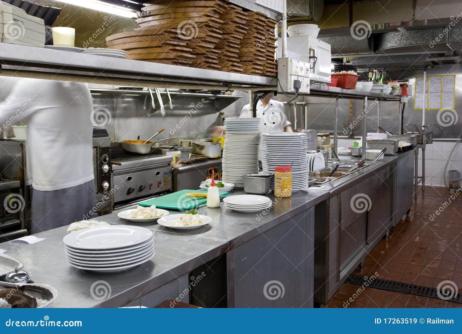 cuisine de restaurant images libres de droits image 17263519. Black Bedroom Furniture Sets. Home Design Ideas
