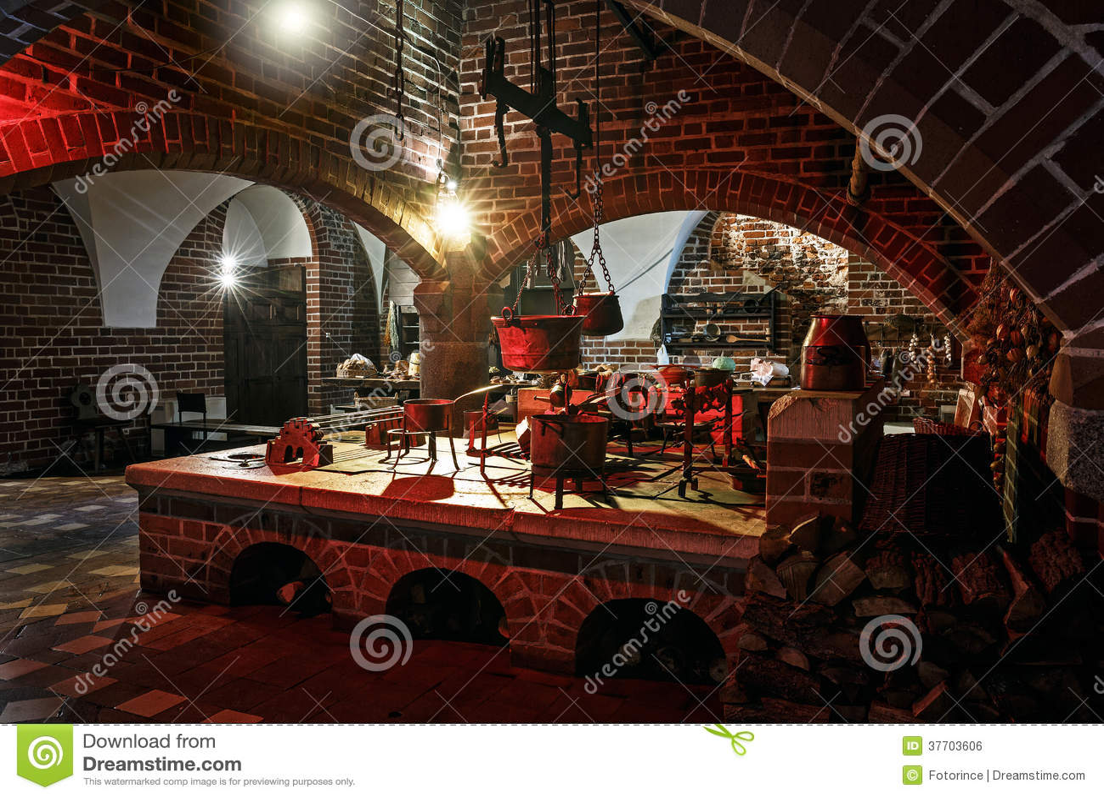 Cuisine de style ancien image libre de droits image 37703606 - Cuisine style ancien ...