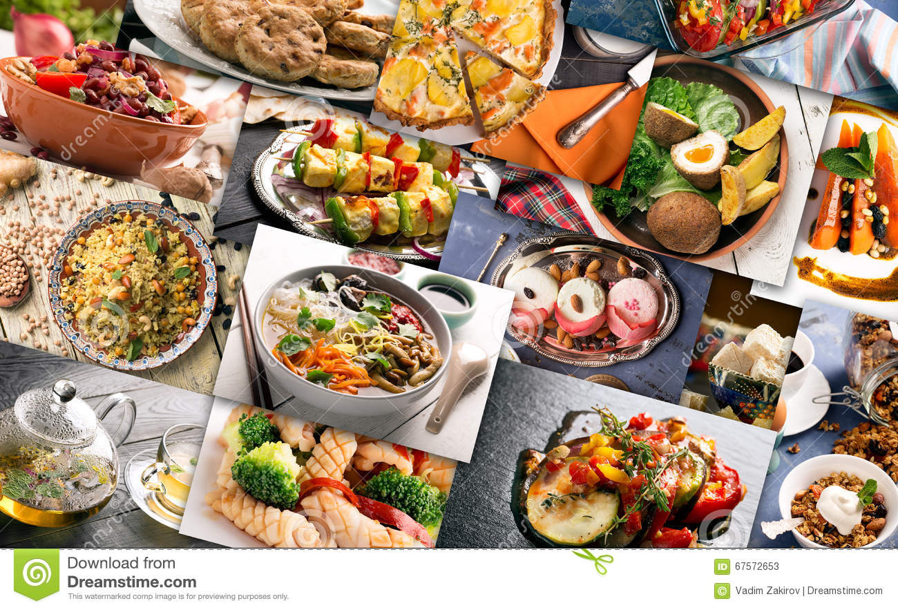 Cuisine of different countries stock image image 67572653 - Different types of cuisines in the world ...