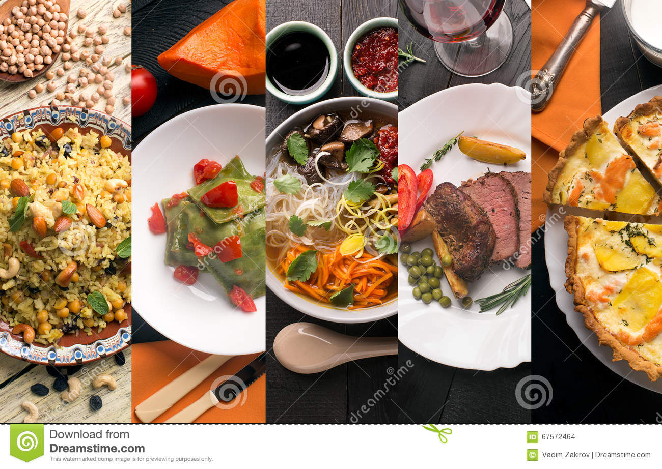 Cuisine of different countries stock photo image 67572464 for Cuisine western