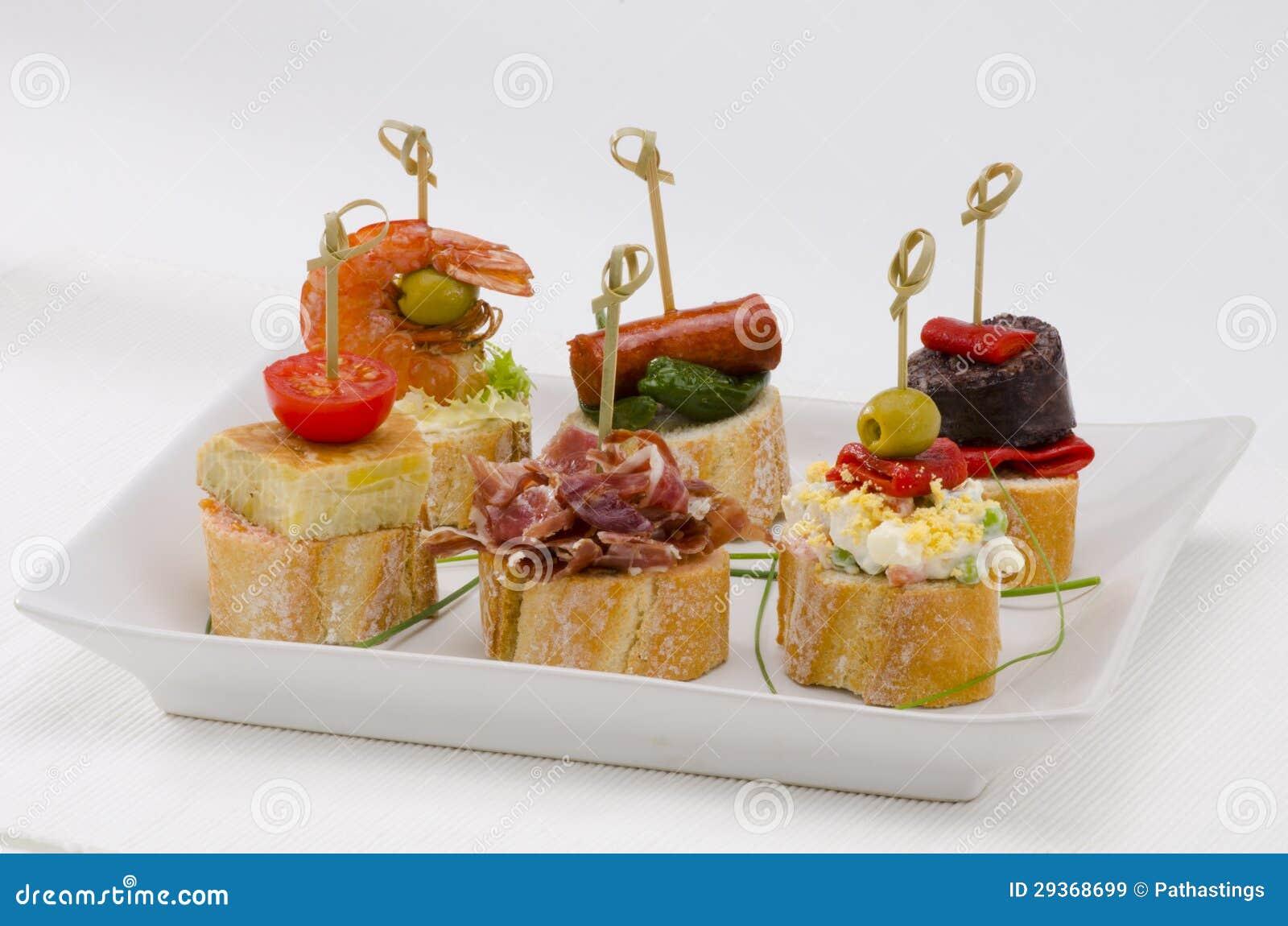 Cuisine espagnole tapas plateau des montaditos images - Cuisine espagnole tapas ...