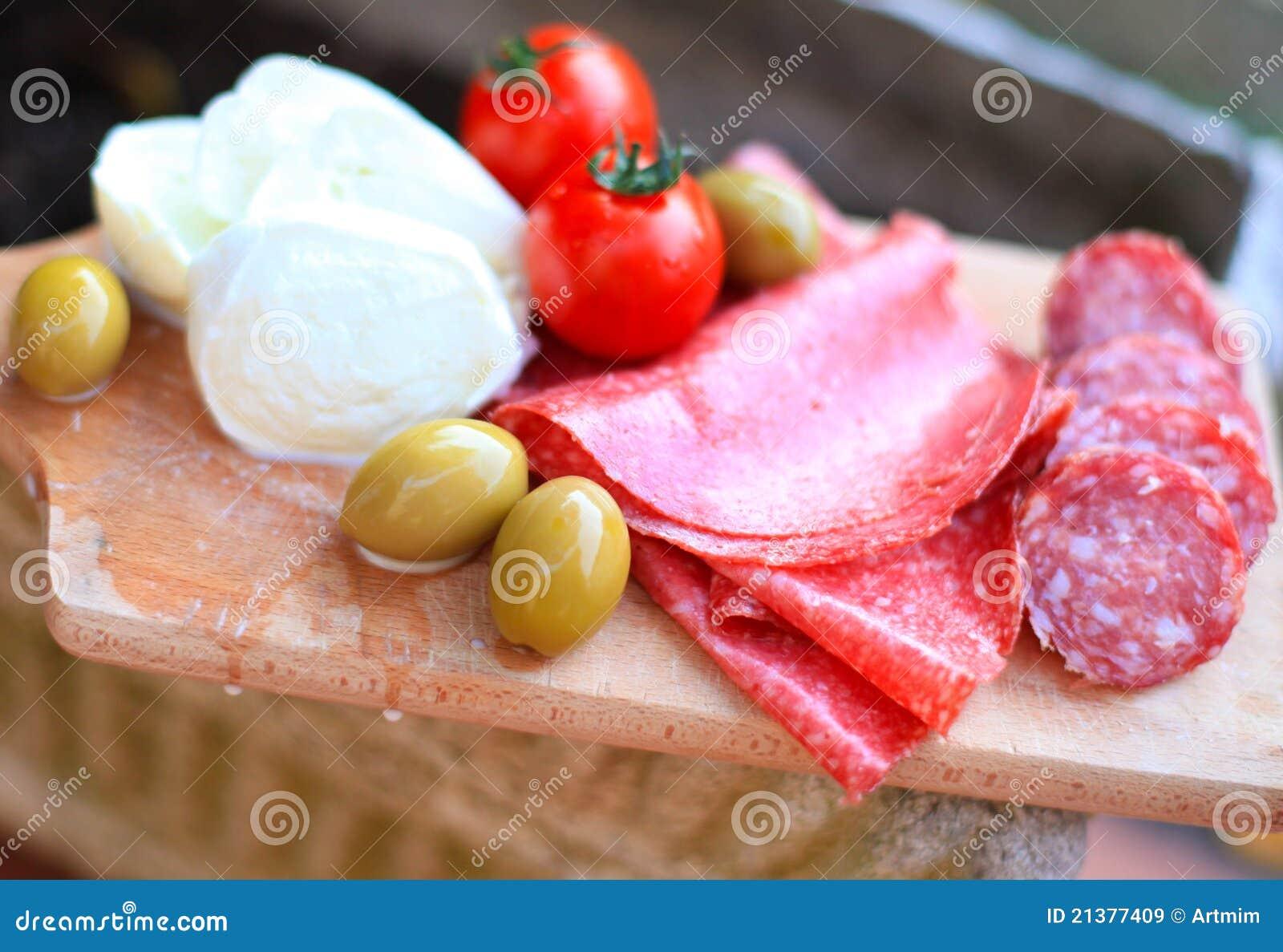 Cuisine italienne. Nourriture gastronome