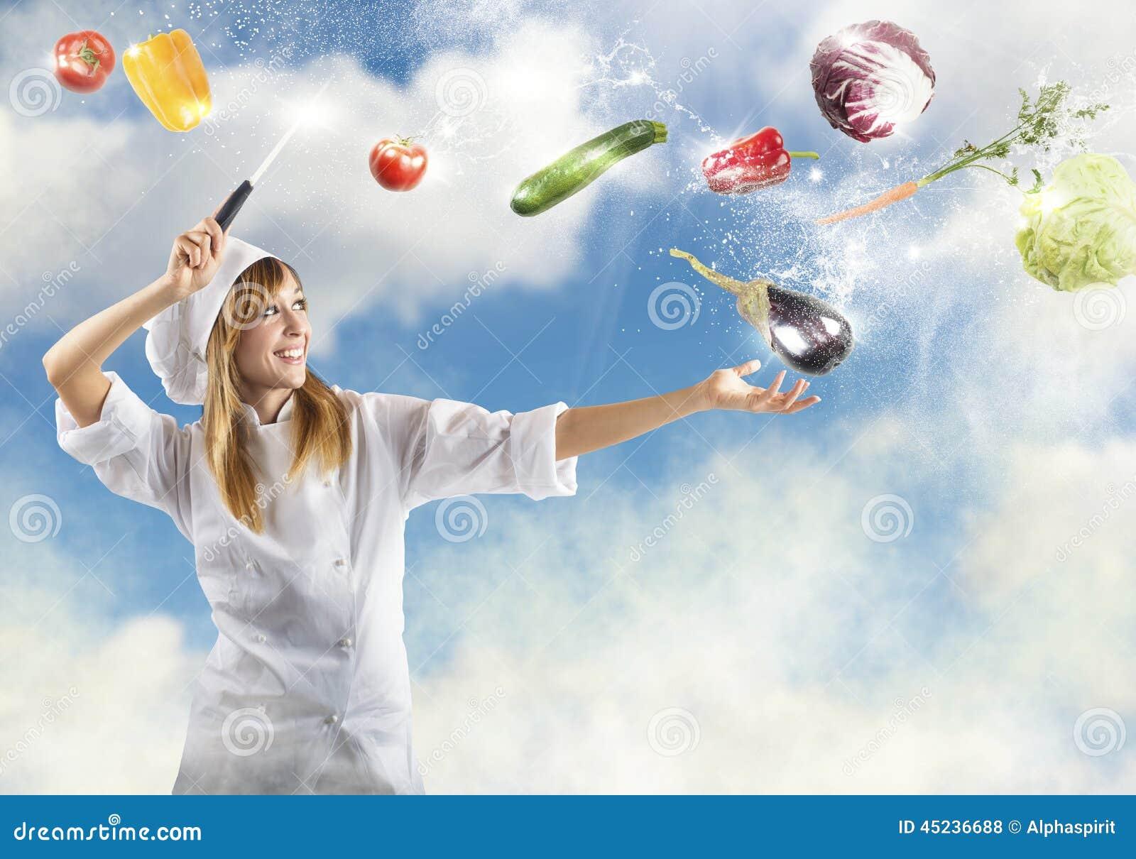 cuisine magique photo stock - image: 45236688