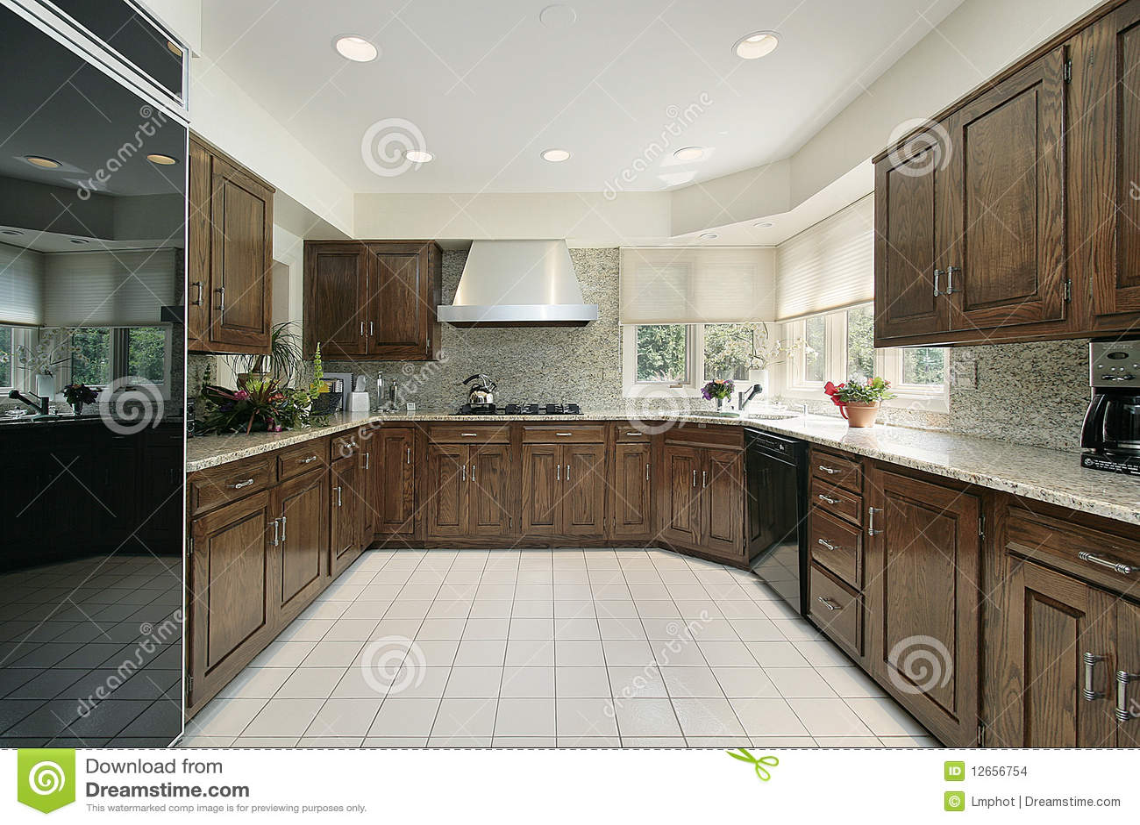 Cuisine Moderne Carr E Images Stock Image 12656754