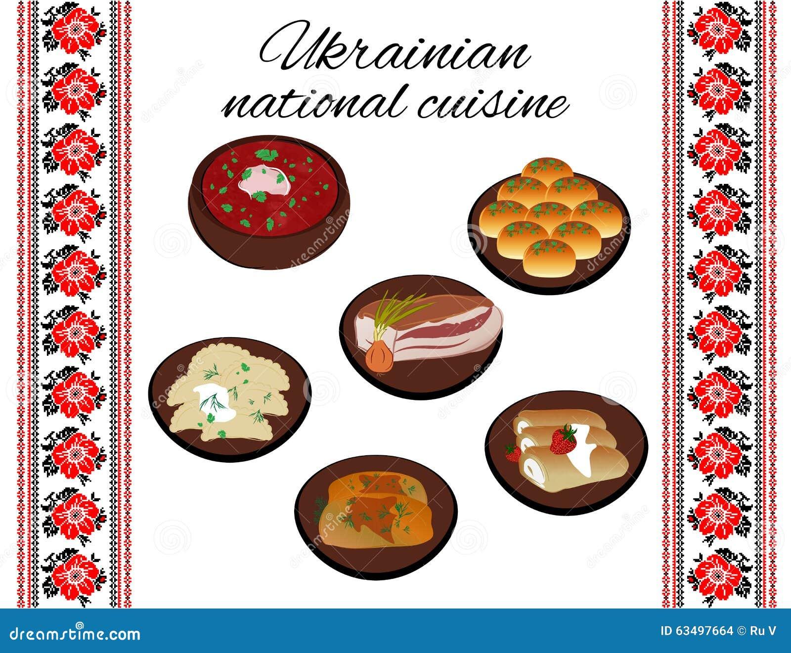 Cuisine nationale ukrainienne