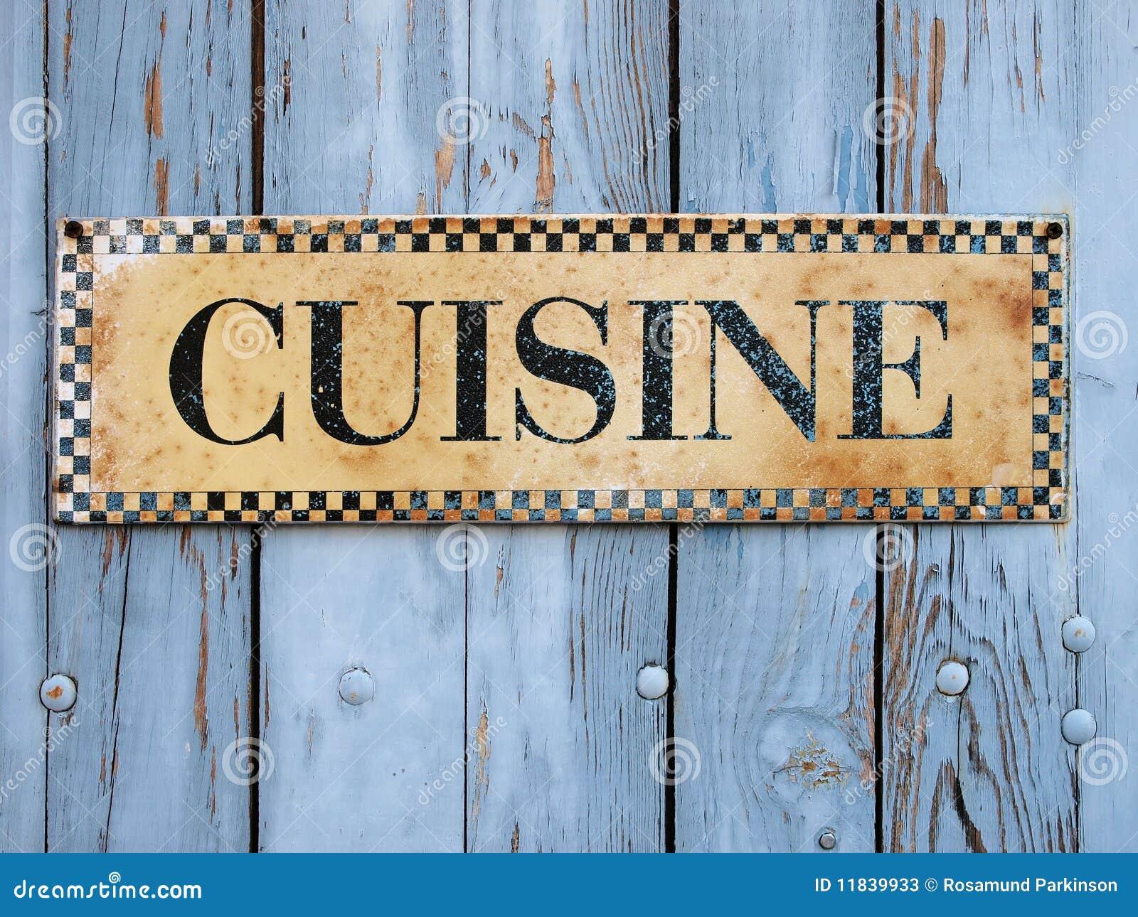 Cuisine sign stock photos image 11839933 - Cuisines design industries ...