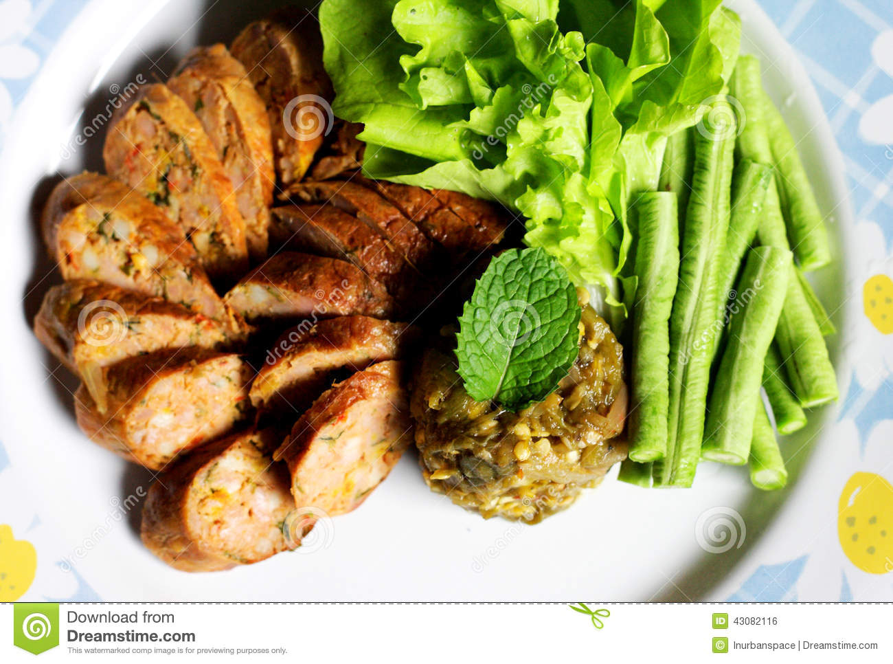 Cuisine tha landaise de lanna photo stock image 43082116 for Cuisine thailandaise