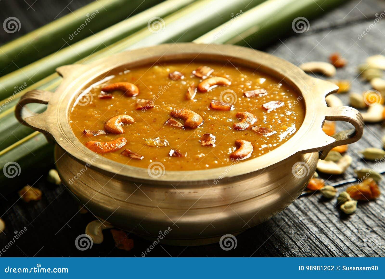 Cuisine- van Kerala Heerlijke payasam of kheer