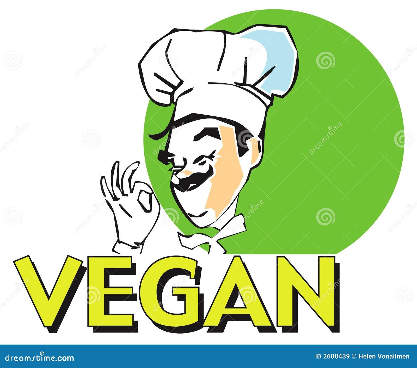 cuisinier de vegan de s rie du travail images libres de