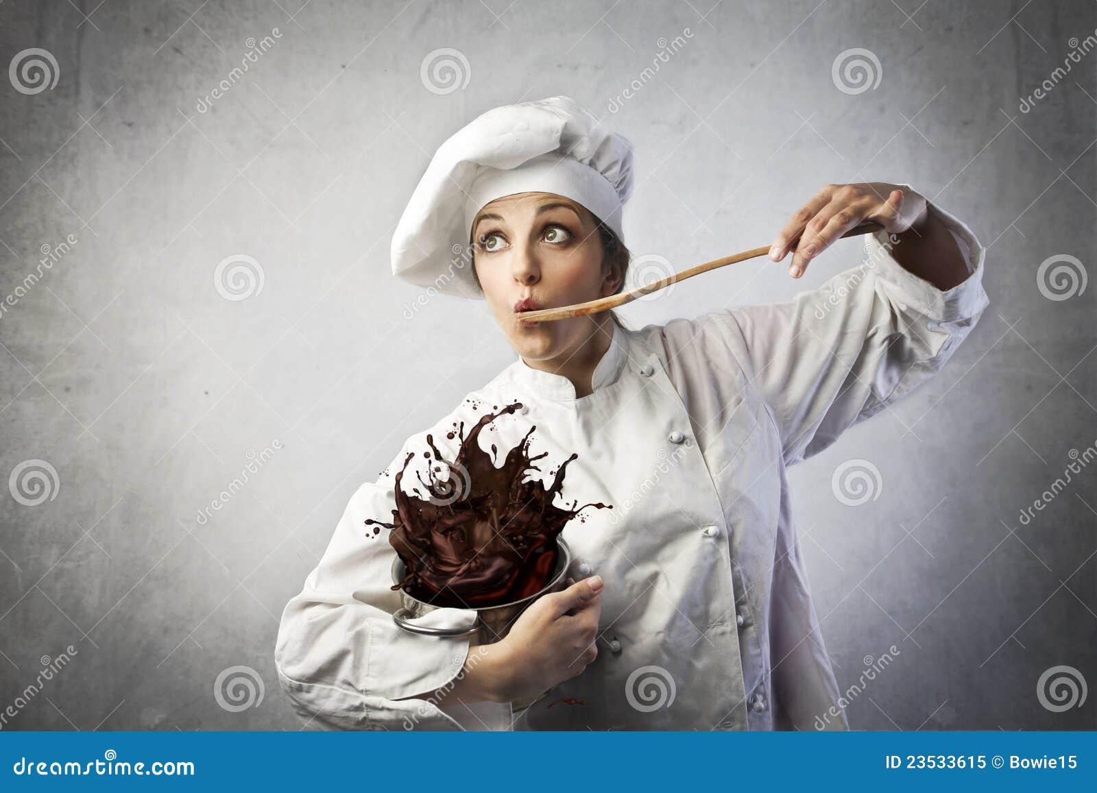 Cuisinier drôle