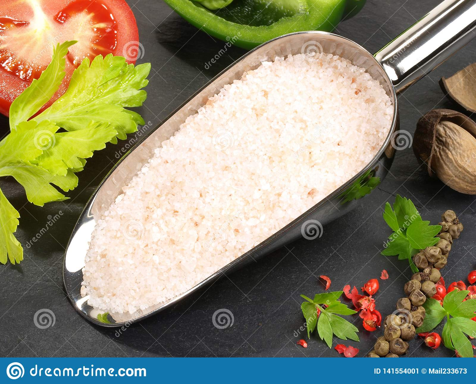 Cuisson avec du sel de mer - nutrition saine