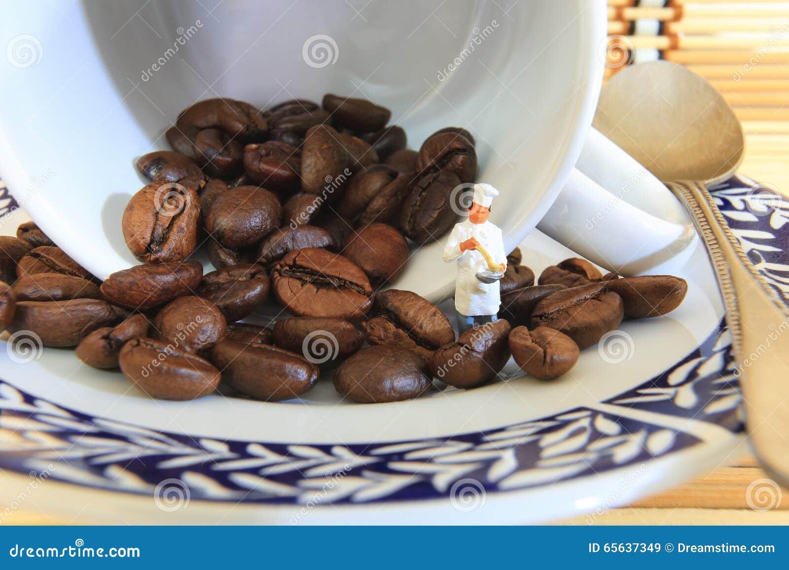 Cuisson de grains de café