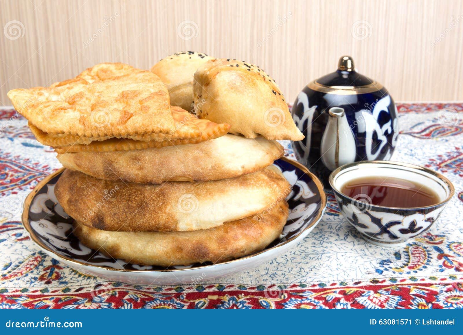 Download Cuisson En Cuisine Asiatique Centrale Image stock - Image du plaque, manger: 63081571