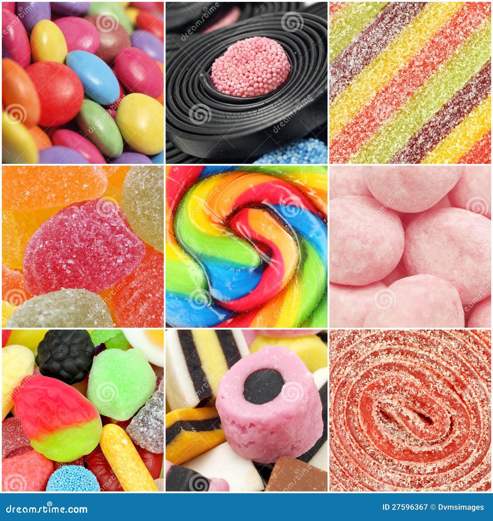 Cukierku Kolaż