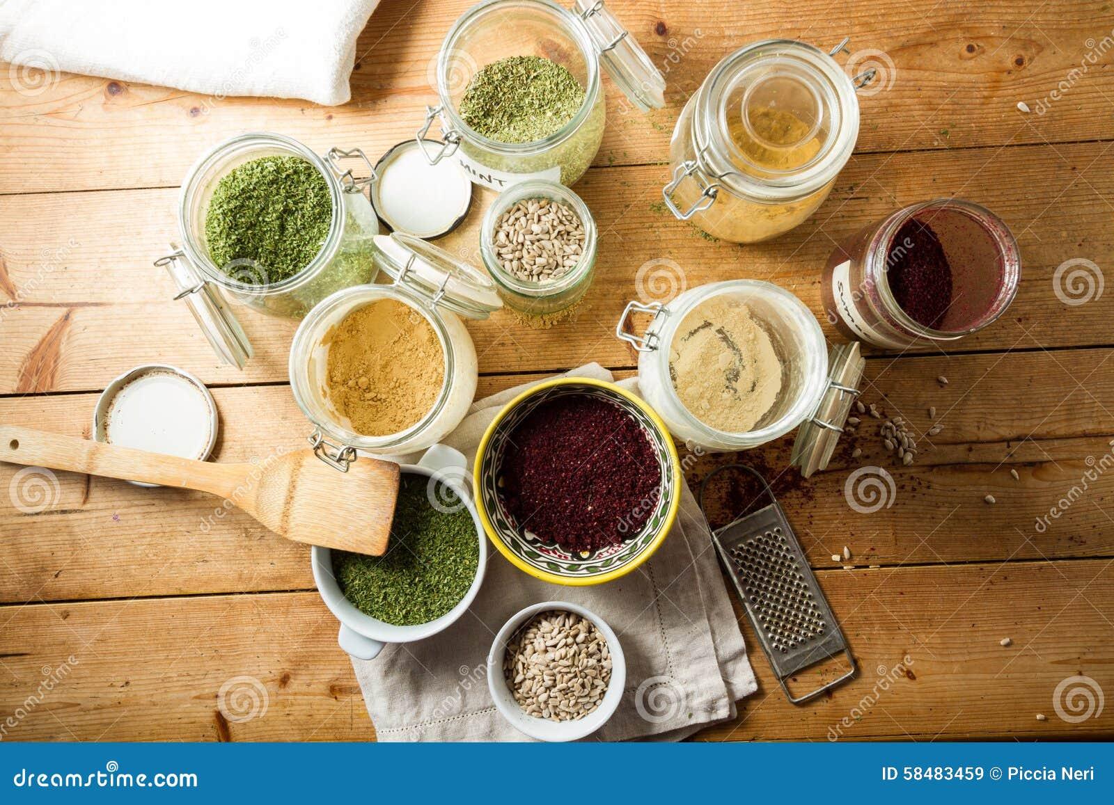Culinária do Oriente Médio: ervas e especiarias