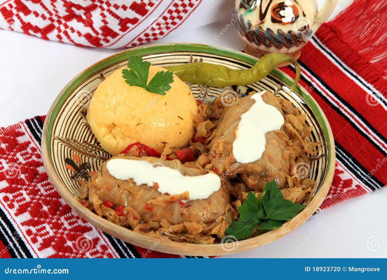 Culinária tradicional de Romania: sarmale