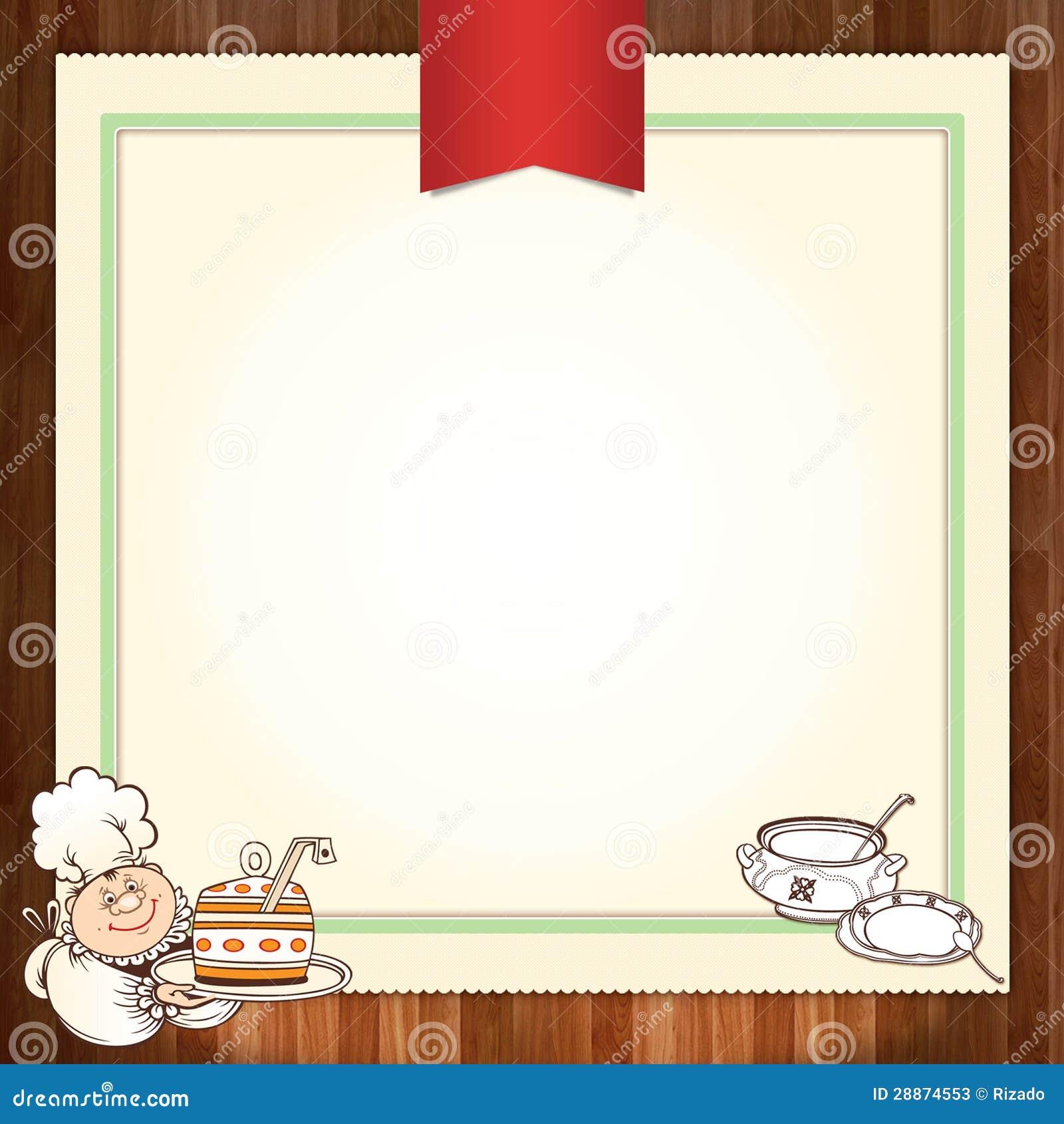 culinary menu template stock illustration illustration of