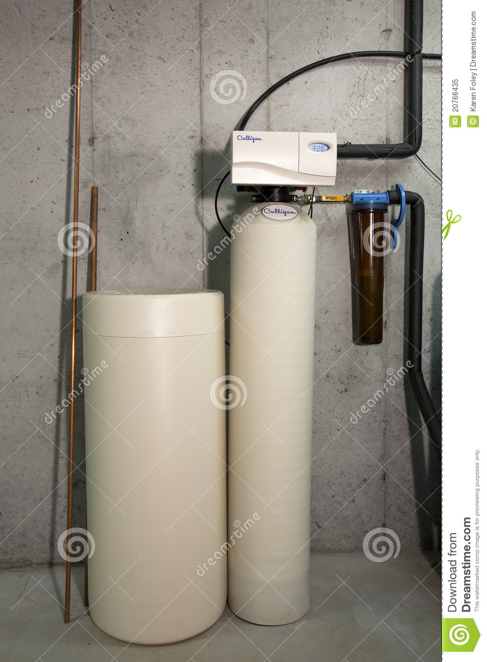 Water Softener Water Softener Copper Piping