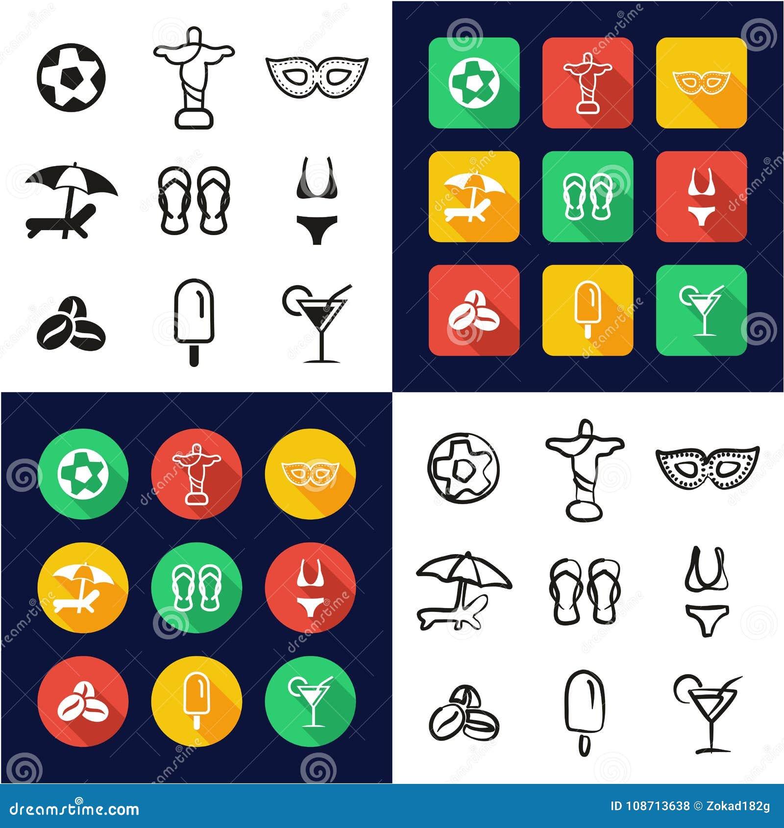 c376989f05 Cultura brasileira toda nos ícones um pretos   no grupo a mão livre do  projeto liso
