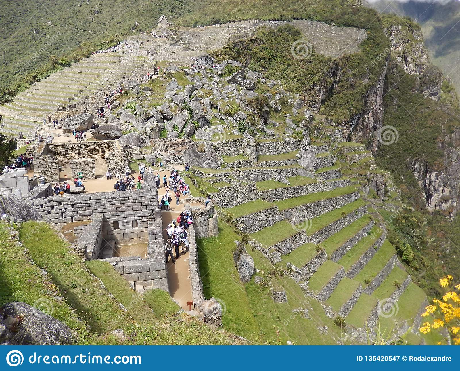 Cultura de Machu Picchu - de Inka - Peru