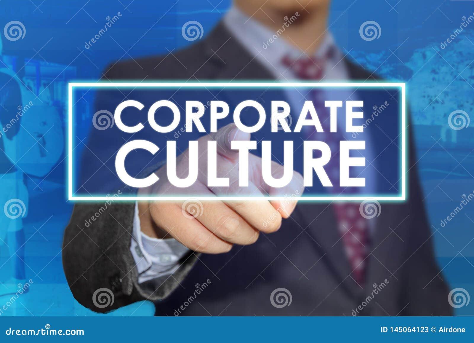 Cultura empresarial, conceito inspirador das citações das palavras do negócio