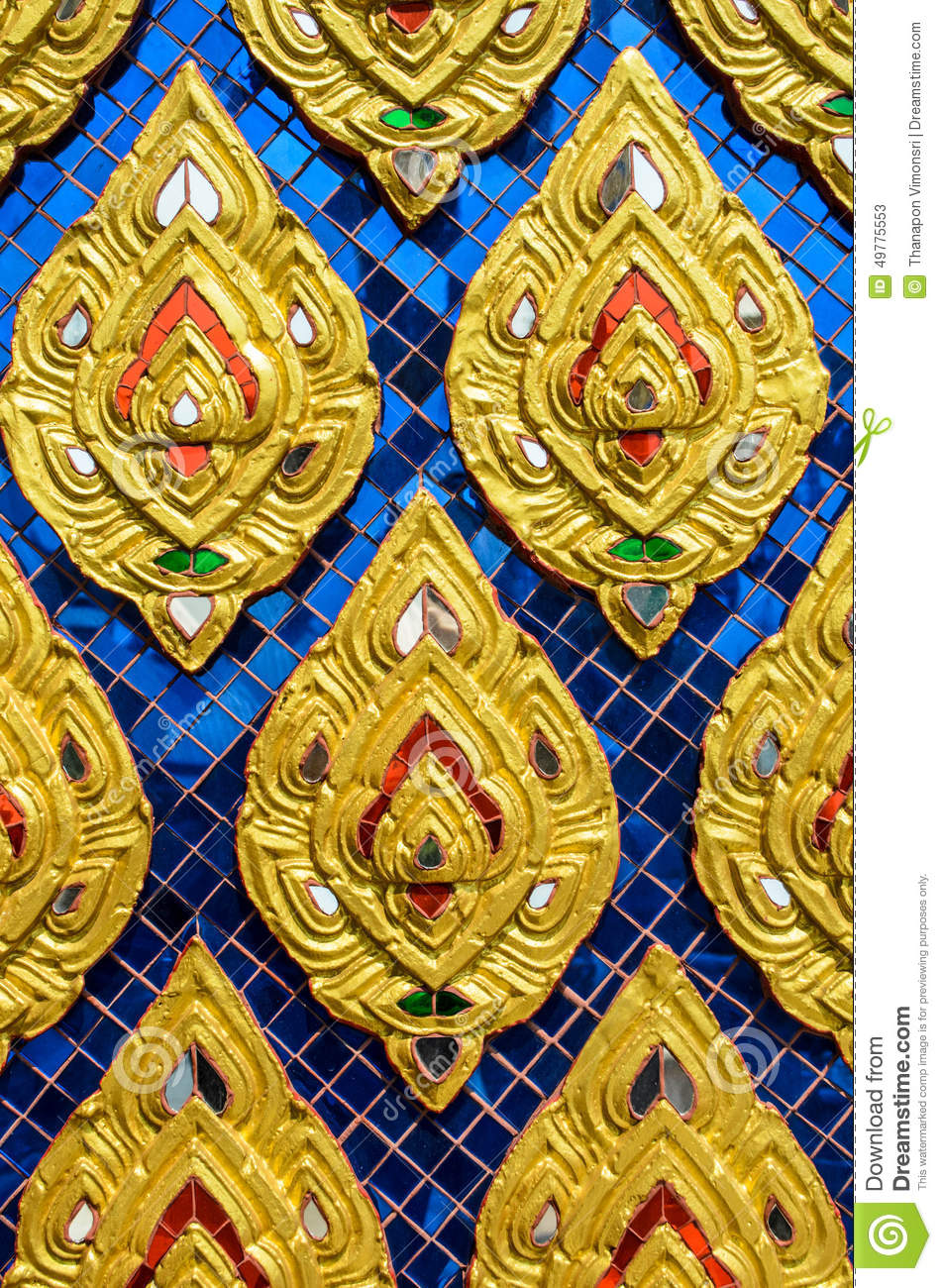 cultural pattern of thailand stock image image of religion