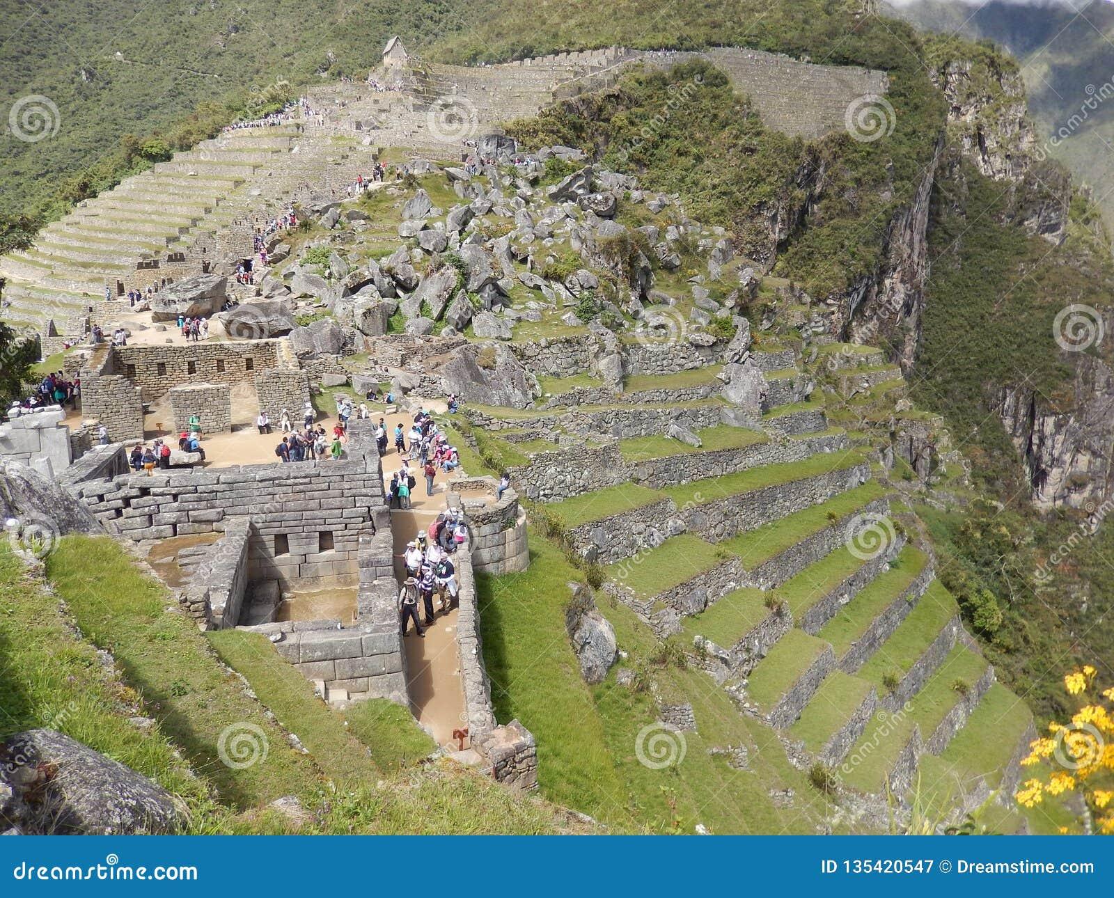 Culture de Machu Picchu - d Inka - le Pérou