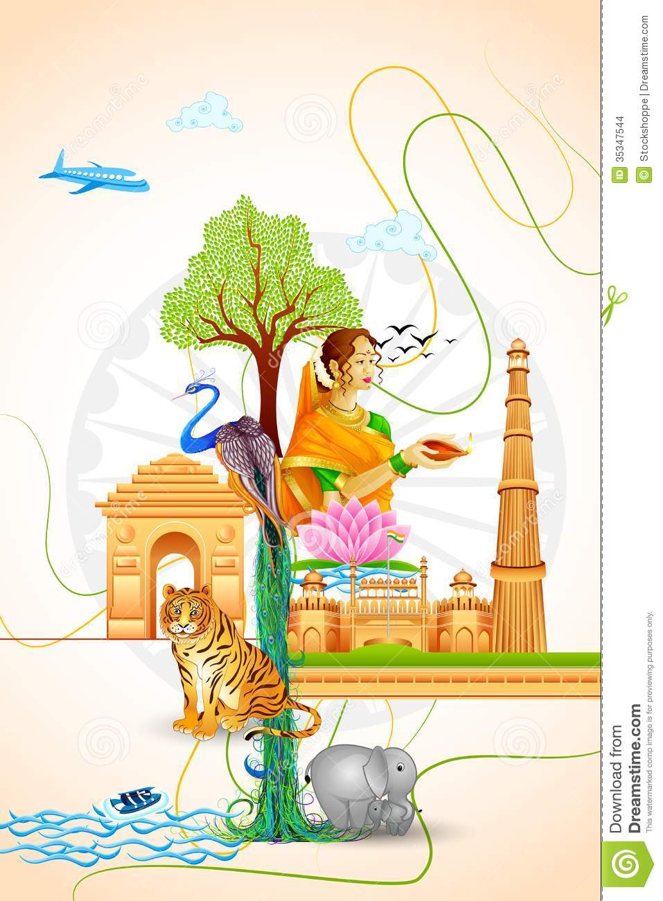 Culture of india stock images image 35347544