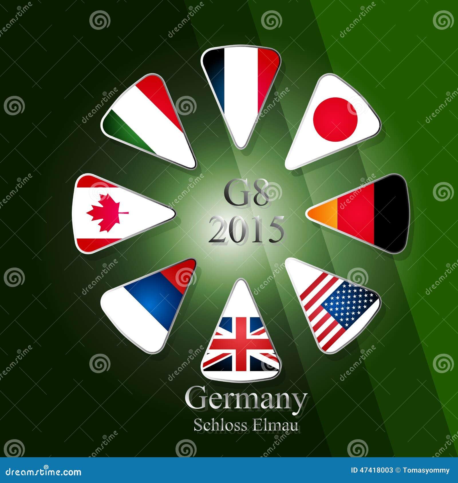 Cumbre G8 infographic