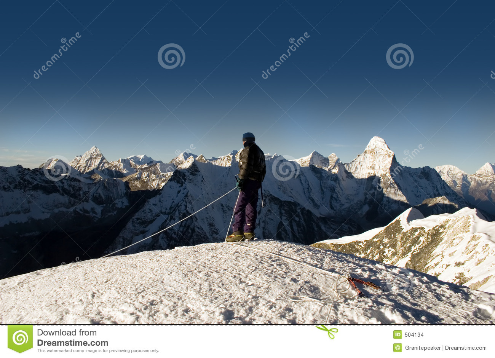 Cumbre máxima de la isla - Nepal