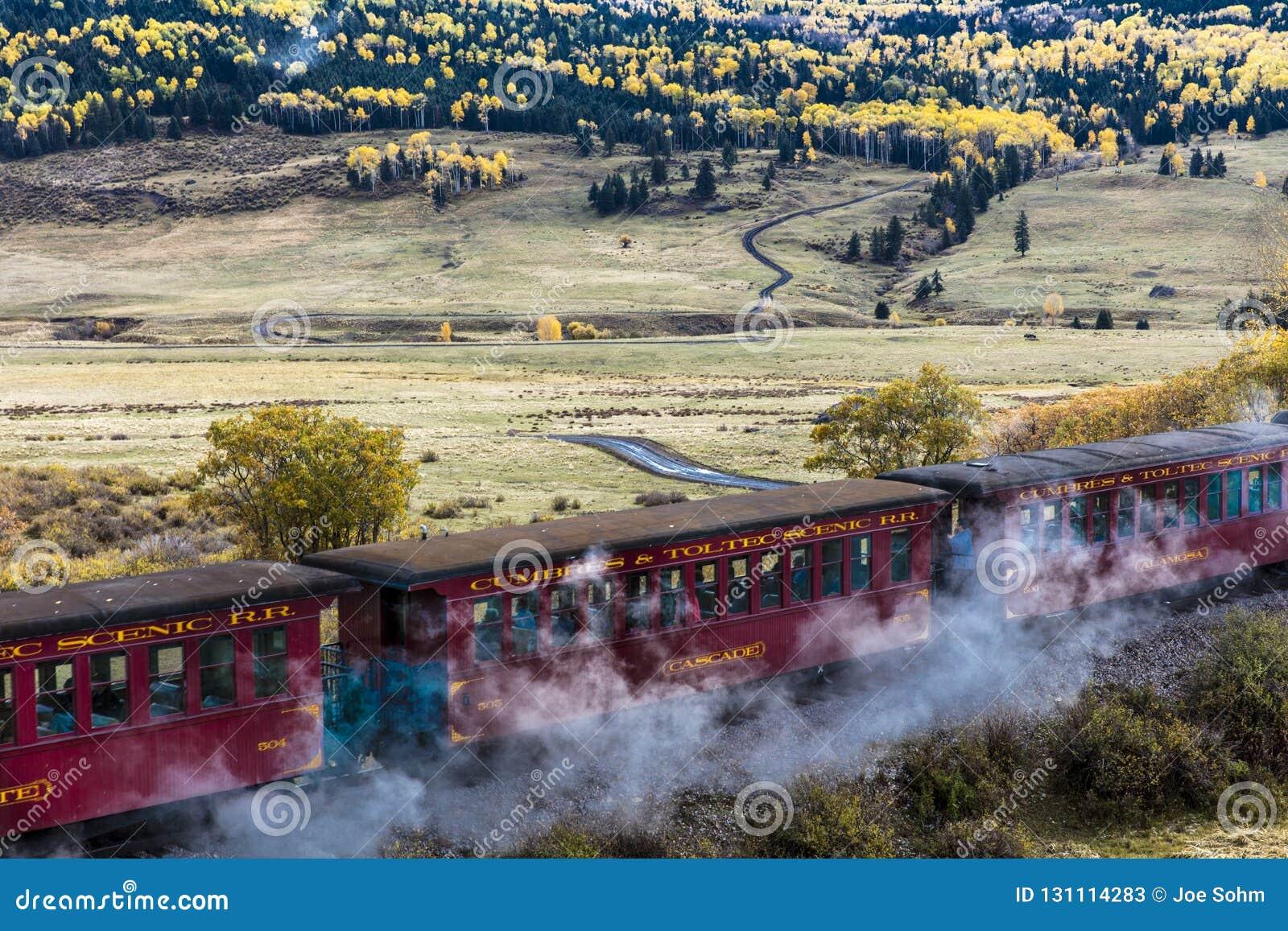Cumbres & Toltec Scenic Steam Train, Chama, New Mexico to Antonito, Colorado over Cumbress Pass 10,015 Elevation