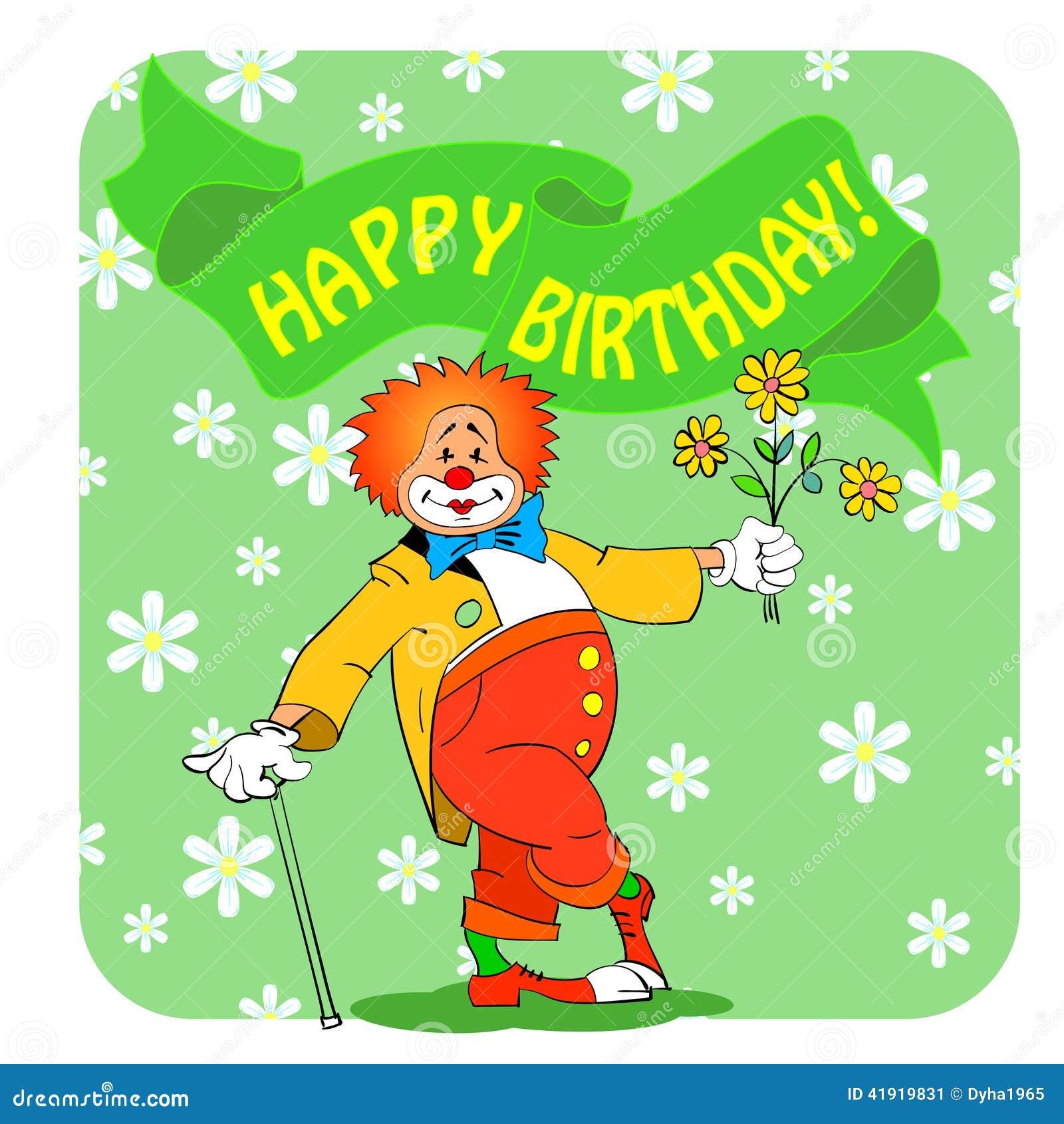 Cumpleaños clown03
