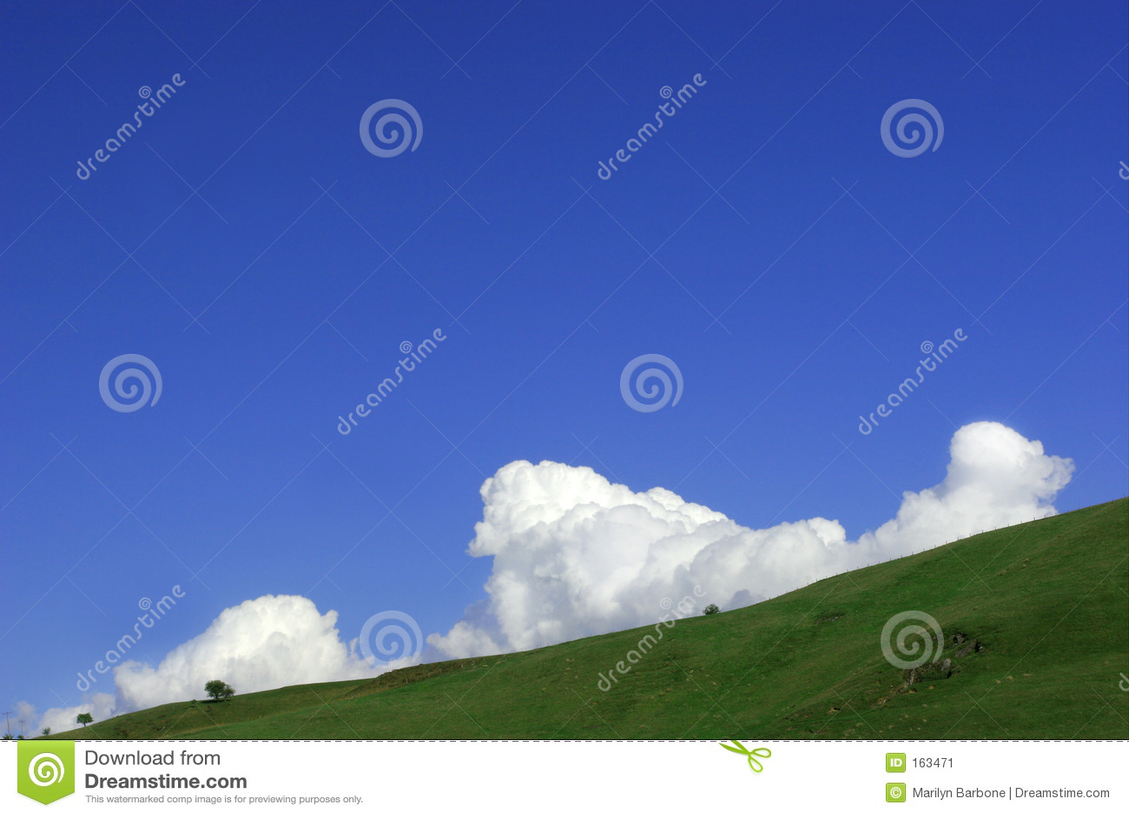 Cumulus Clouds Rising