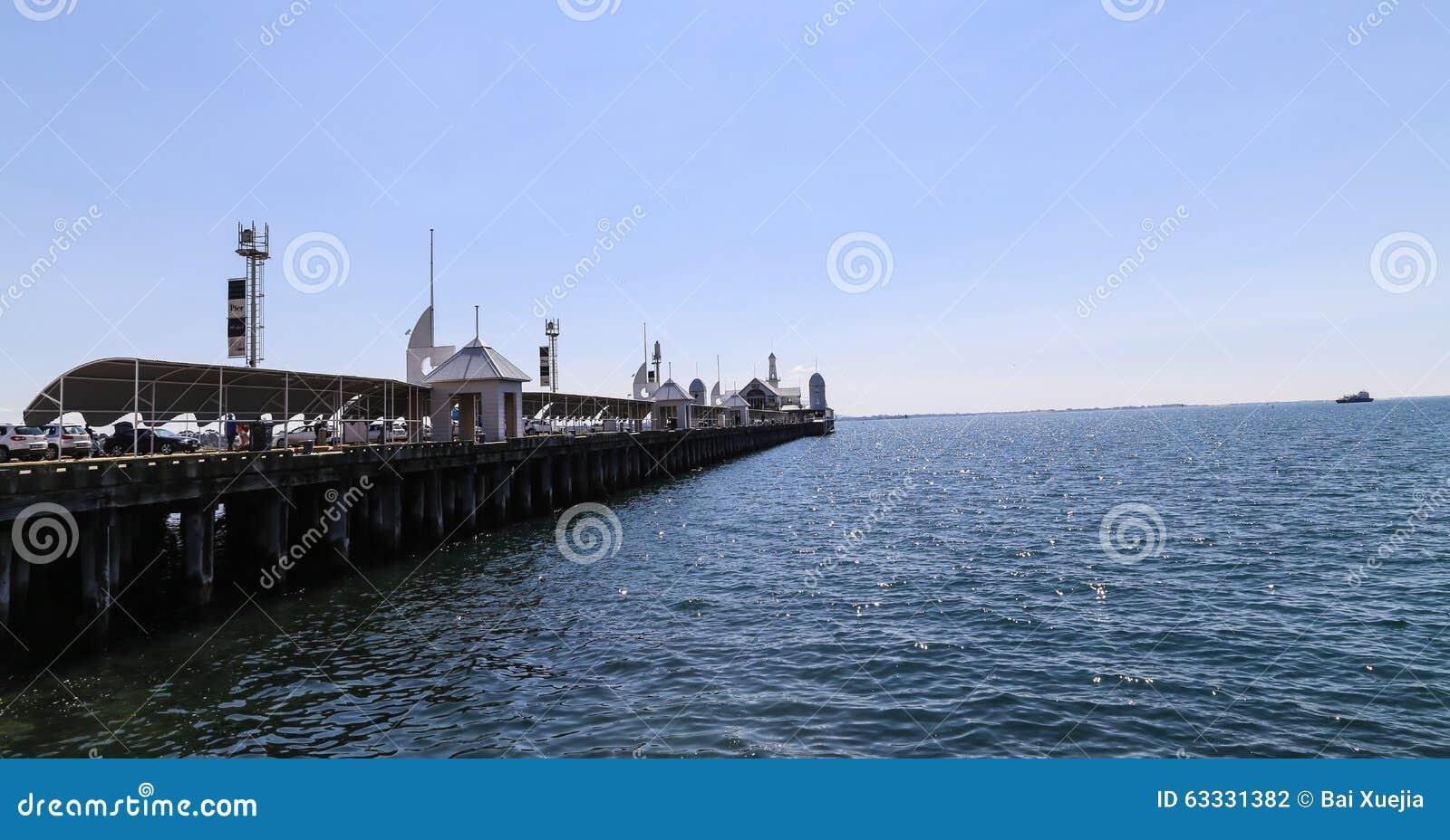 Cunningham-Pier im geelong, Australien