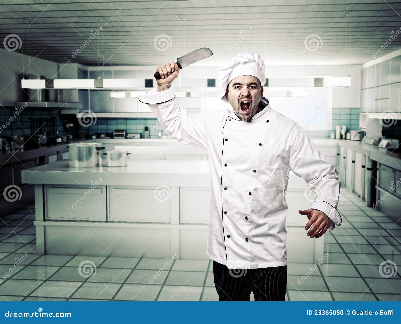 Cuoco unico arrabbiato