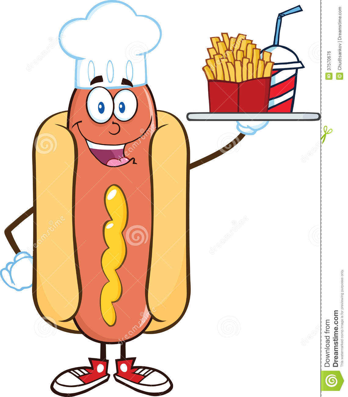 Hot Dog Pictures Clip Art