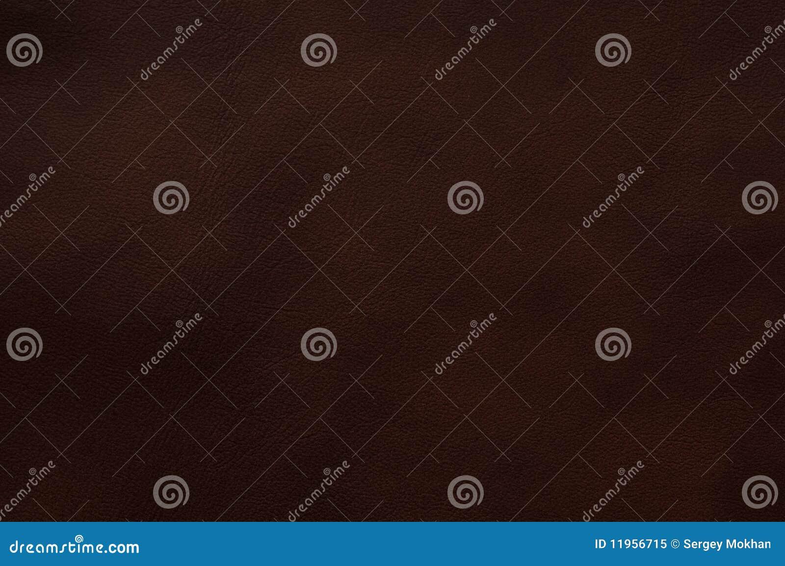 Cuoio Di Colore Marrone Scuro Fotografia Stock Libera da