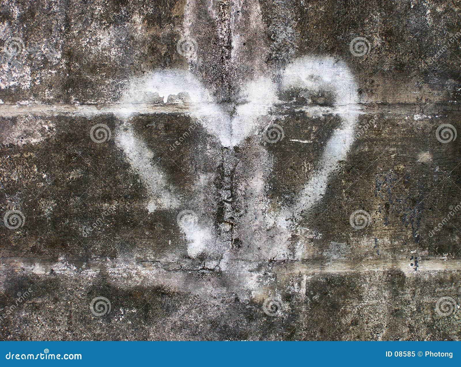 Cuore dei graffiti