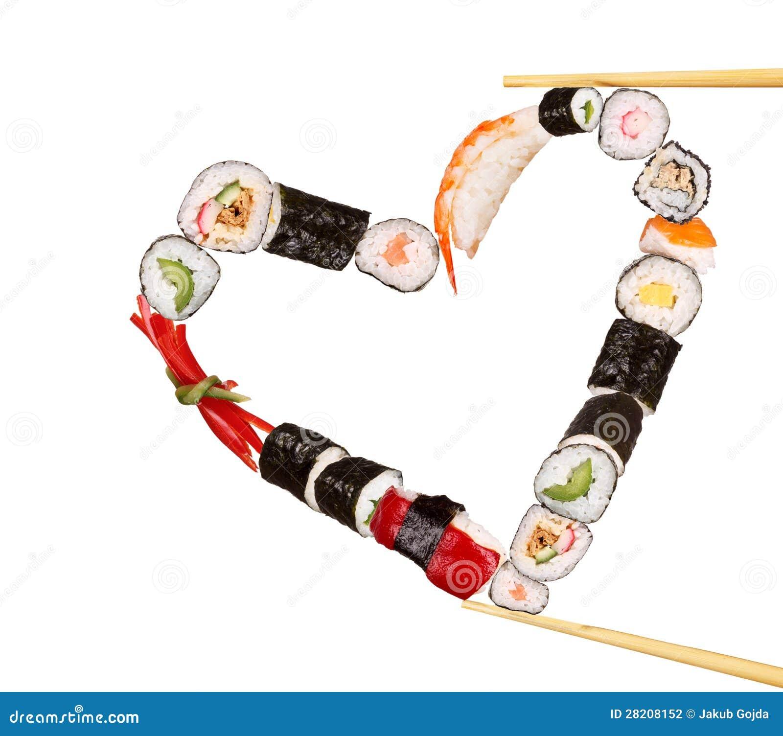 Cuore dei sushi