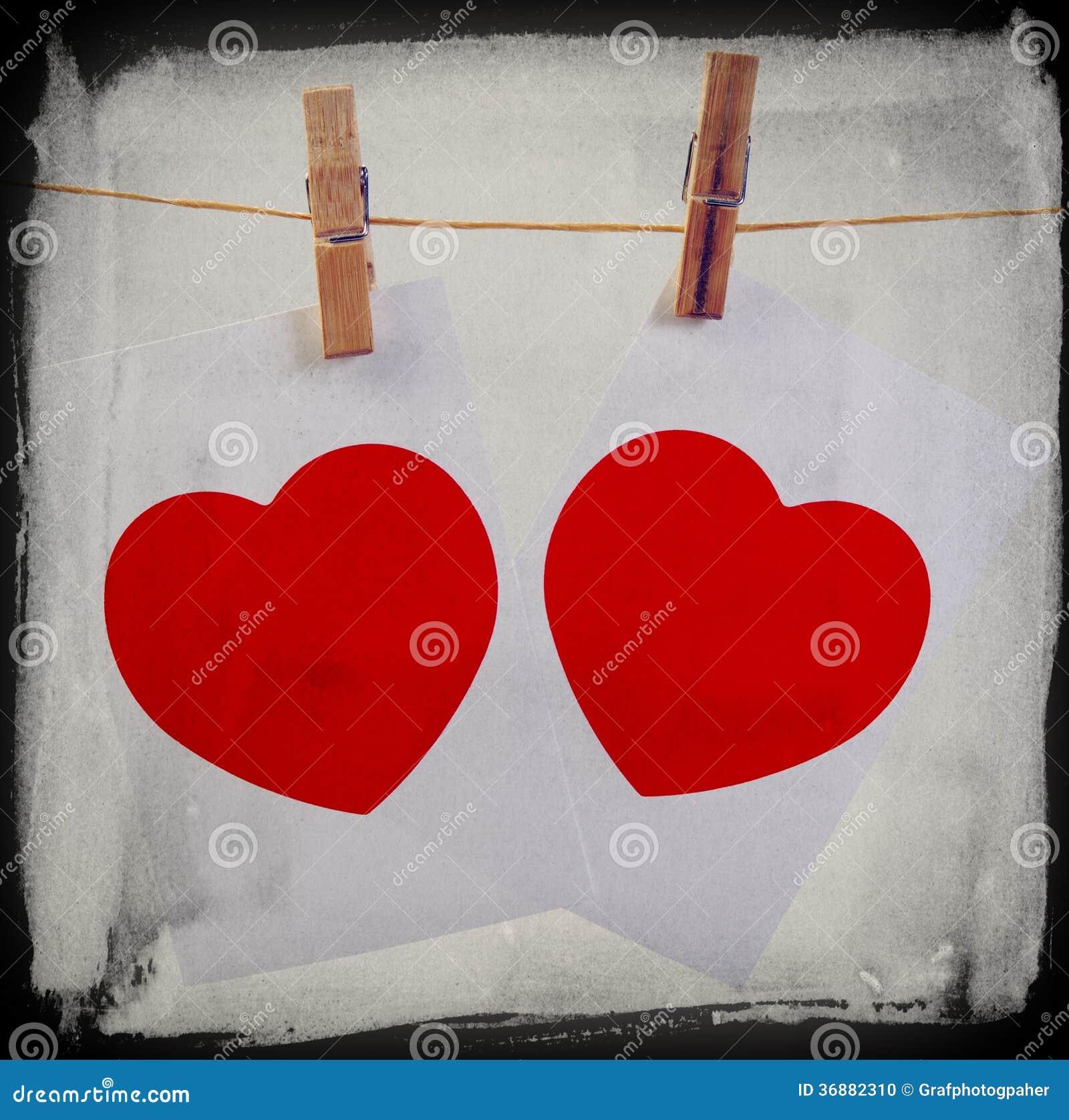 Download Cuore Del Biglietto Di S. Valentino Fotografia Stock - Immagine di whipcord, oggetti: 36882310