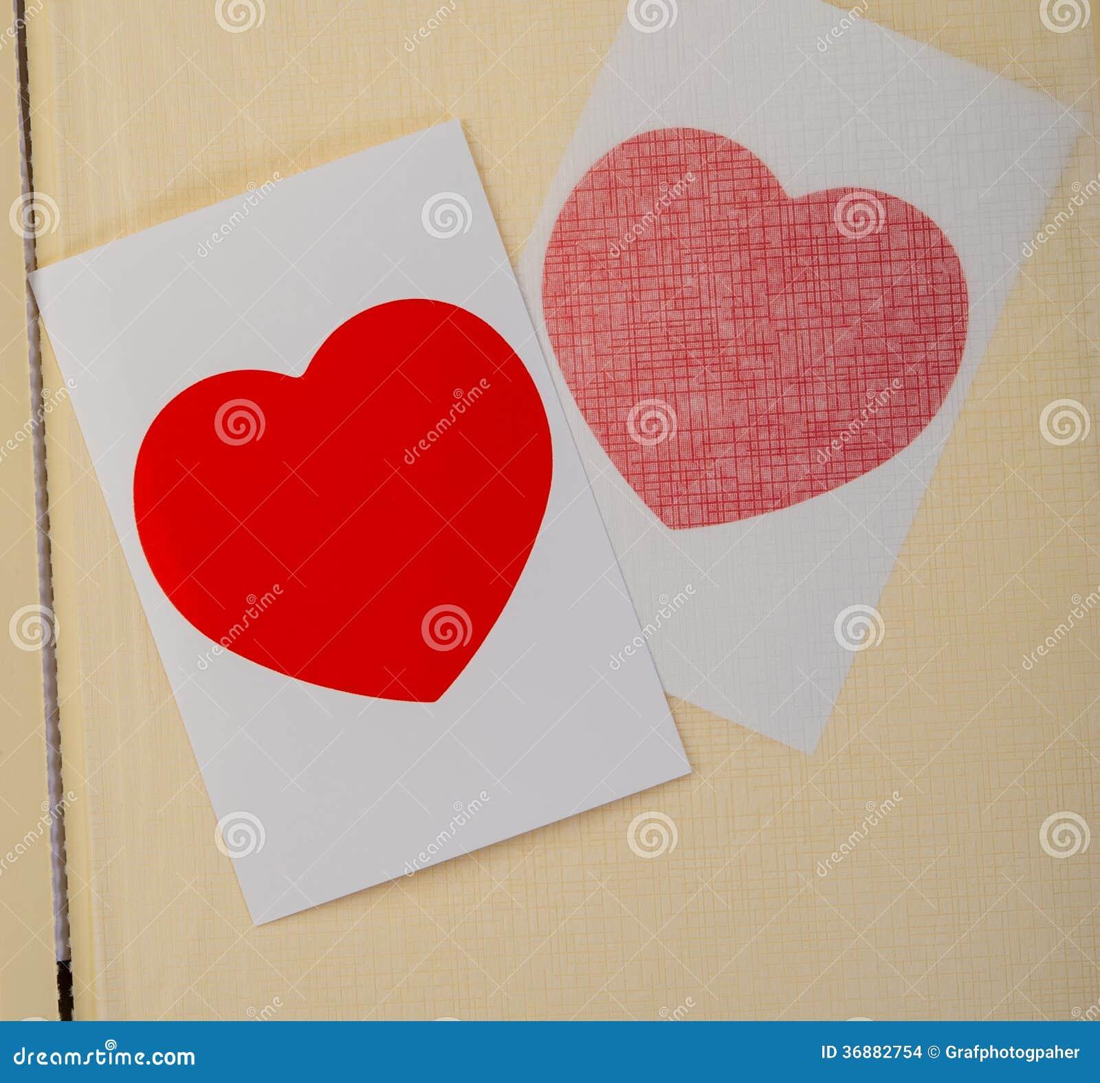 Download Cuore Del Biglietto Di S. Valentino Fotografia Stock - Immagine di concetto, febbraio: 36882754