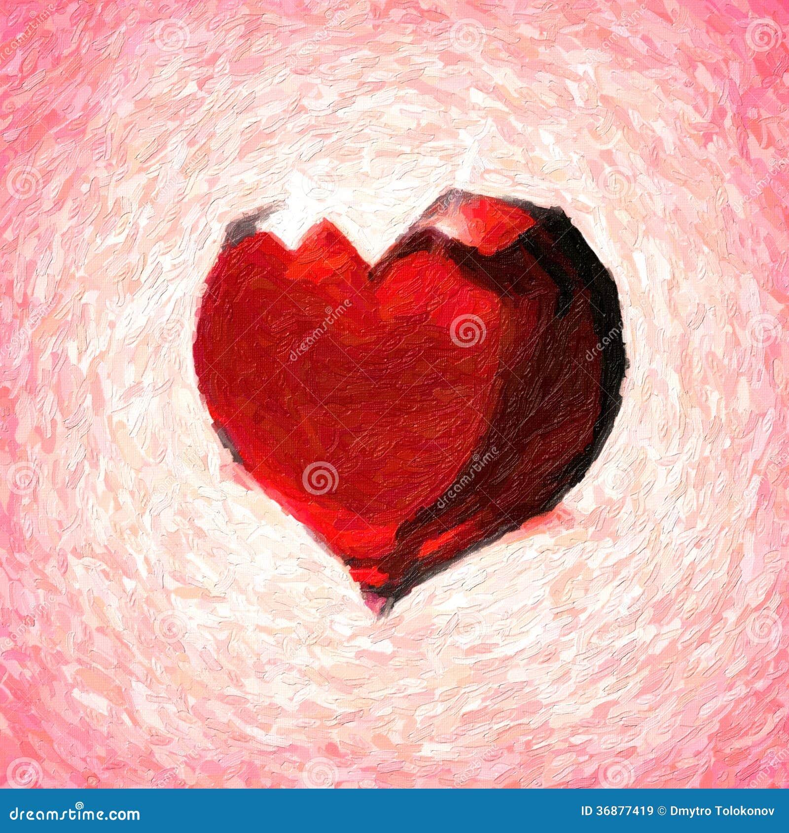 Download Cuore di cristallo. illustrazione di stock. Illustrazione di background - 36877419