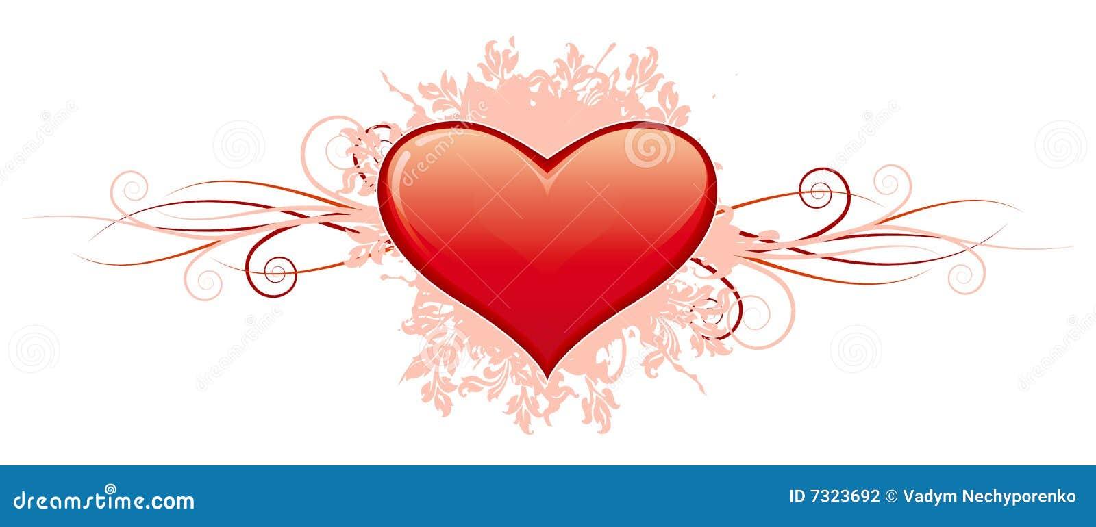 Cuore di giorno del biglietto di S. Valentino