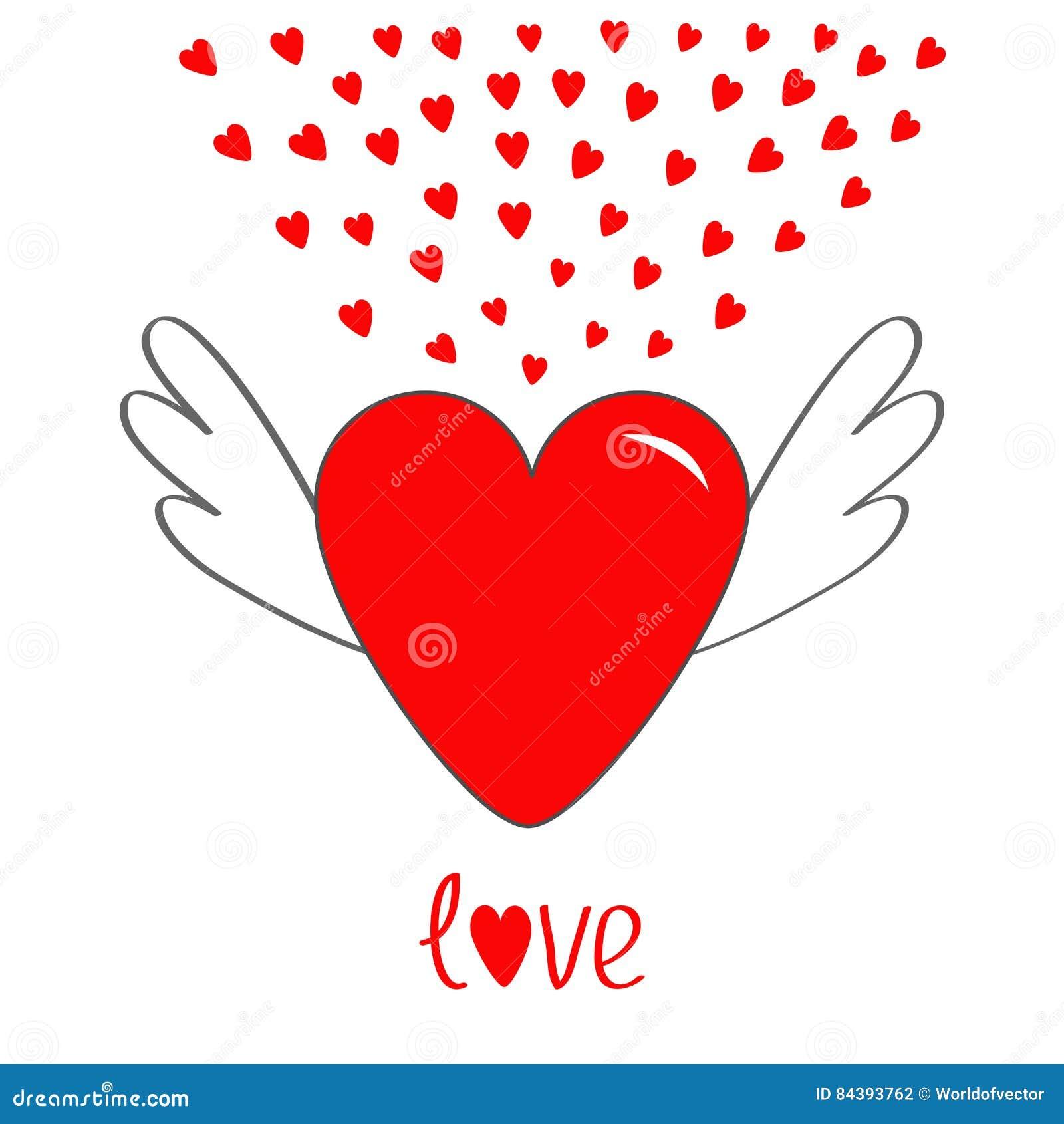 """cuore astratto immagine /""""amore/"""" Angelo con cuore Angelo arte immagine foto"""