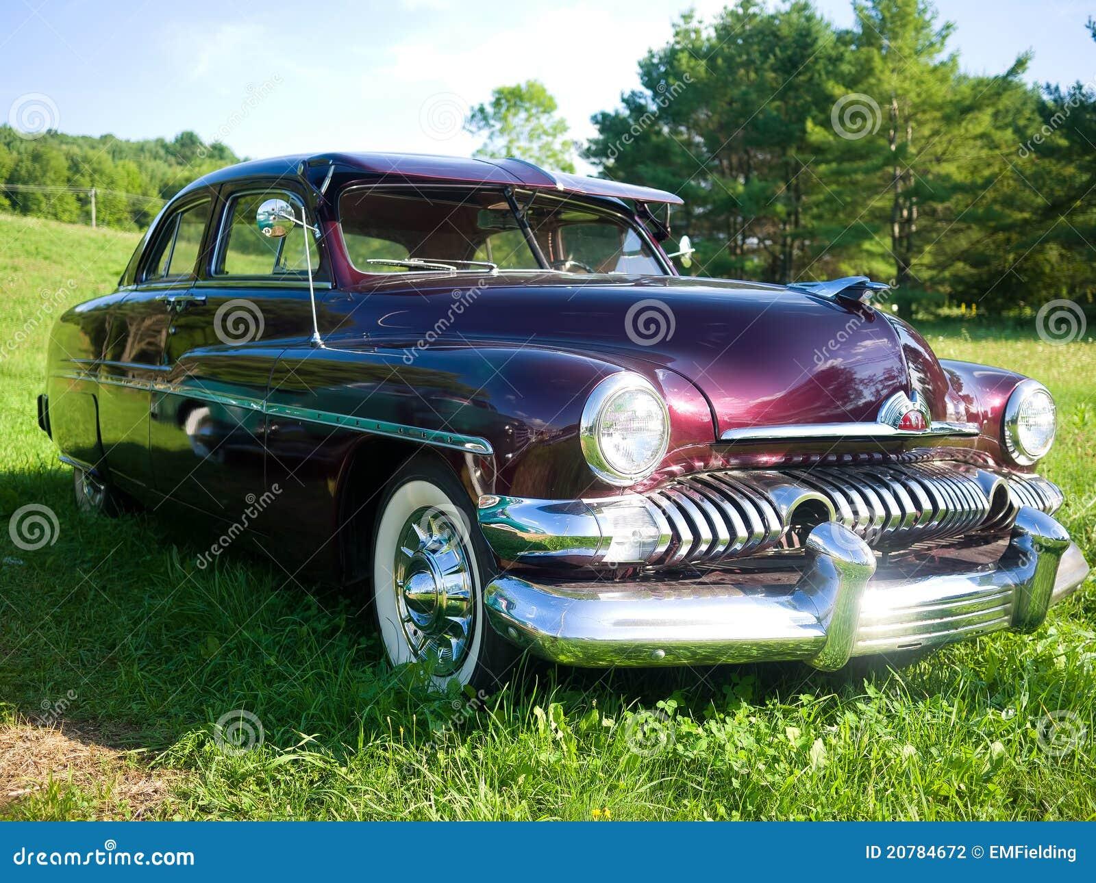 Cupé 1951 do Mercury