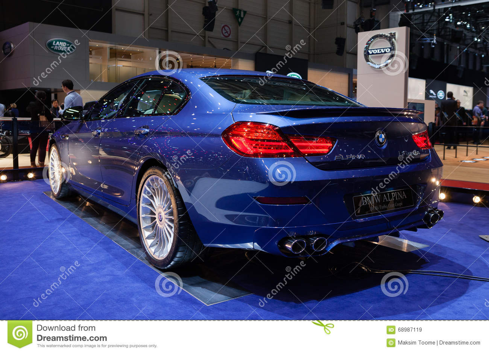 Cupé de BMW Alpina B6 BI-turbo Gran