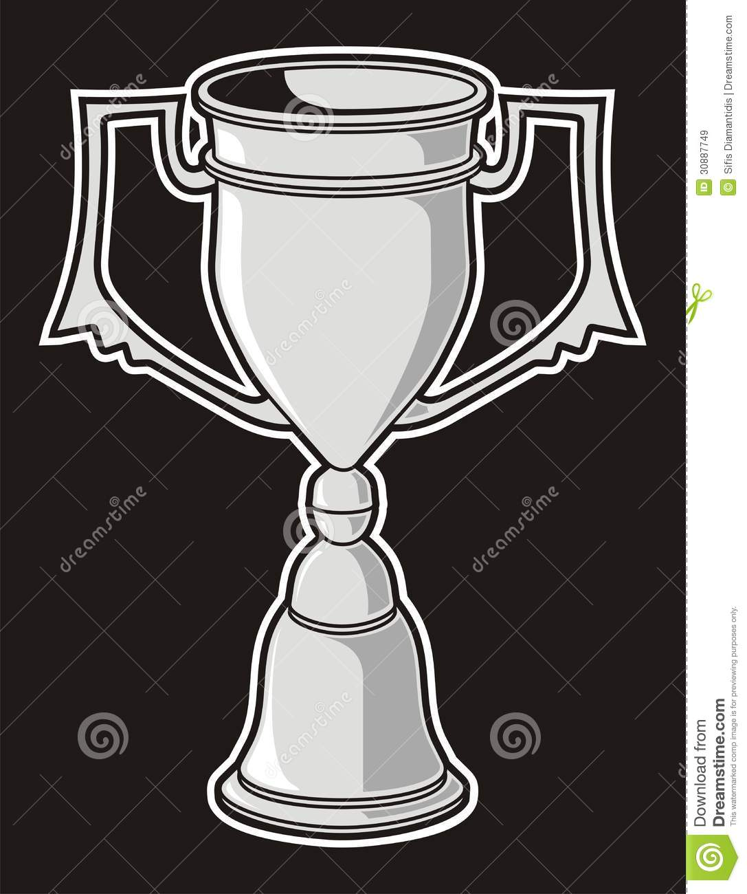 Download Cup award stock vector. Illustration of victory, sport - 30887749
